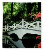Southern Splendor Fleece Blanket
