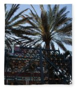 Southernmost Hotel Entrance In Key West Fleece Blanket