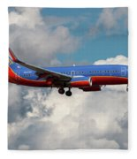 Southwest Airlines Boeing 737-700 Fleece Blanket