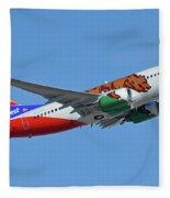 Southwest Boeing 737-7h4 N943wn California One Phoenix Sky Harbor October 16 2017 Fleece Blanket