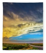 Southwest Nebraska Chase Day 046 Fleece Blanket