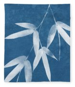 Spa Bamboo 1-art By Linda Woods Fleece Blanket