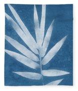 Spa Bamboo 2- Art By Linda Woods Fleece Blanket