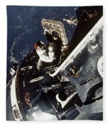 Space: Apollo 9 Fleece Blanket