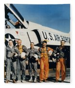 Space: Astronauts, C1961 Fleece Blanket