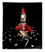 Space Craft Fleece Blanket