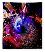 Space In Another Dimension Fleece Blanket