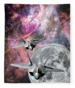 Space Invaders Fleece Blanket