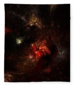 Space Nebula 2 Fleece Blanket