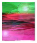 Space Oddity Fleece Blanket