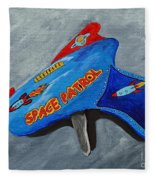 Space Patrol Fleece Blanket