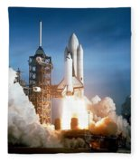 Space Shuttle Columbia - First Launch 1981 Fleece Blanket