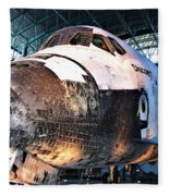 Space Shuttle Discovery View No. 2 Fleece Blanket