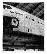 Space Shuttle Endeavour 2 Fleece Blanket