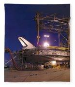 Space Shuttle Endeavour Fleece Blanket