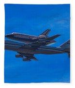 Space Shuttle Endevour Fleece Blanket