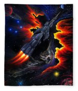 Space Shuttle. Flight Through The Never Fleece Blanket