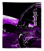 Space Station Fleece Blanket