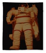 Space Suit Fleece Blanket
