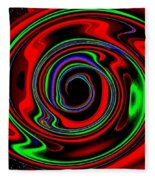 Space Twister Fleece Blanket