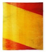Spain Flag Fleece Blanket