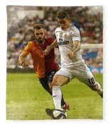 Spain Soccer Bernabeu Trophy Fleece Blanket