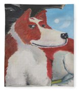 Spaniel Ancestor Fleece Blanket