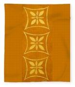Spanish Gold Rectangle Fleece Blanket