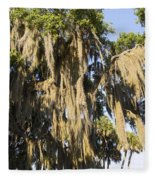 Spanish Moss  Fleece Blanket