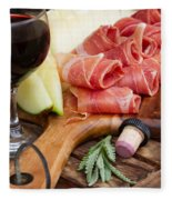Spanish Tapas Fleece Blanket