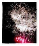 Sparkles Fireworks Fleece Blanket