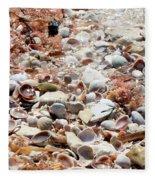 Sparkling Shells Fleece Blanket