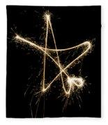 Sparkling Star Fleece Blanket