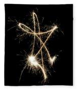 Sparkling Star II Fleece Blanket