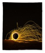 Sparks 2 Fleece Blanket