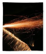 Sparks Will Fly Fleece Blanket