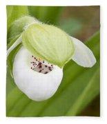 Sparrow's-egg Orchid  Fleece Blanket