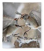 Sparrows Fleece Blanket
