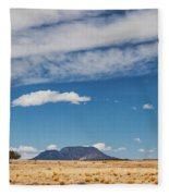 Sparse Fleece Blanket by Rick Furmanek