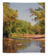 Spavinaw Creek Fleece Blanket