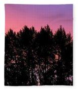 Spectacular Silhouette Fleece Blanket