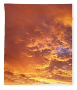 Spectacular Sunrise Fleece Blanket