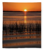Spectacular Sunset Fleece Blanket