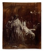 Spectrum Appearance Of Banquo Fleece Blanket