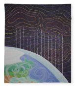 Spectrum Earth Spacescape Fleece Blanket