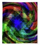 Spectrum Swirls Fleece Blanket