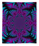 Spellbound - Abstract Art Fleece Blanket