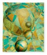 Spheres Of Life's Changes Fleece Blanket