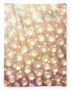 Spheres Of Light Fleece Blanket