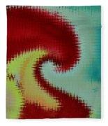 Spherical Colours Fleece Blanket